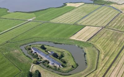 Mooie en bijzondere opdracht; Fort krommeniedijk.